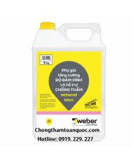 Phụ gia chống thấm Weberad Latex