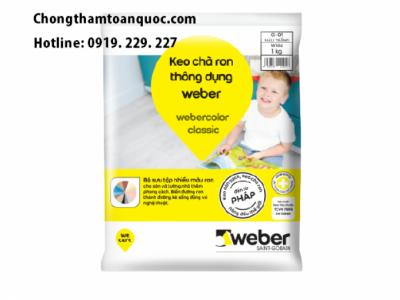 Keo chà ron Webercolor Classic chính hãng tại Hà Nội