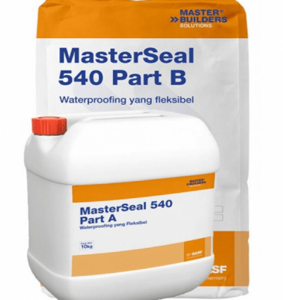 Masterseal 540 - Chống thấm 2 thành phần gốc xi măng