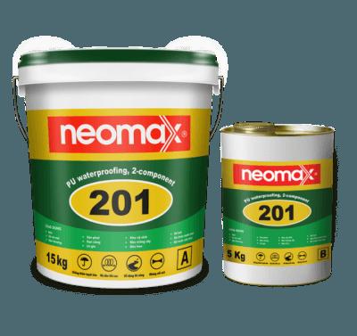 Neomax 201- Chống thấm Polyurethane độ đàn hồi trên 600%