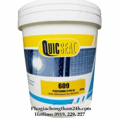 Phụ gia cho vữa Quicseal 609 (Latex)