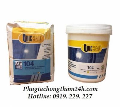 Quicseal 104 - Màng chống thấm xi măng dẻo