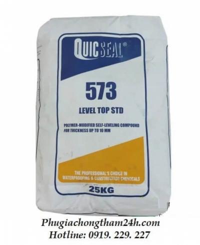 Quicseal 573 - Vữa tự san phẳng gốc xi măng