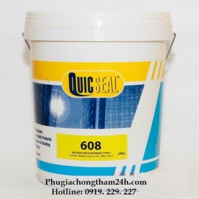Quicseal 608 - Phụ gia Latex Acrylic