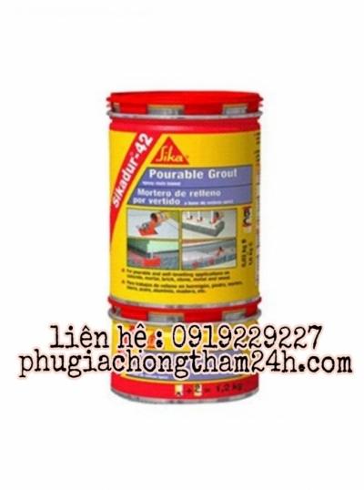 Sikadur 42MP - vữa rót gốc nhựa epoxy 3 thành phần