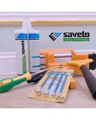 Combo keo chít mạch Saveto + bộ dụng cụ đầy đủ đi kèm