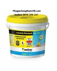 Keo chà ron Webercolor HR - Chuyên dùng cho hồ bơi, phòng xông hơi