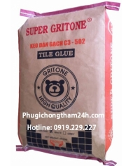 Keo dán gạch đá Super Gritone C3 - 502