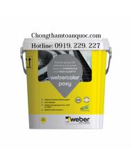 Keo dán gạch và chà ron Webercolor Poxy