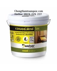 Keo dán gạch Weberfix Pro trộn sẵn dùng cho tường nội thất