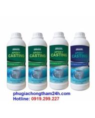 Keo epoxy resin trong suốt 2 thành phần AB APOXY CASTING
