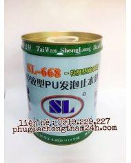 Keo trương nở PU SL-668 - Keo xử lý chống thấm ngược