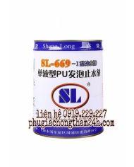Keo trương nở PU SL-669 - Keo xử lý chống thấm ngược