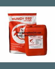 Munich G20 Màng chống thấm polyme 2 thành phần gốc xi măng siêu đàn hồi