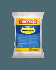Neomax Waterplug 102 –  Vữa đông cứng nhanh gốc xi măng cản nước