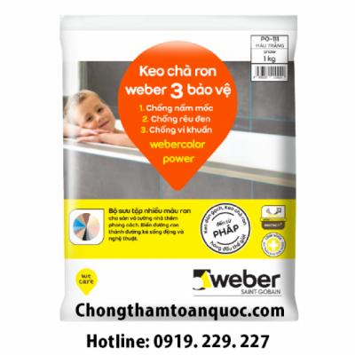 Webercolor Power - Keo chà ron 3 bảo vệ