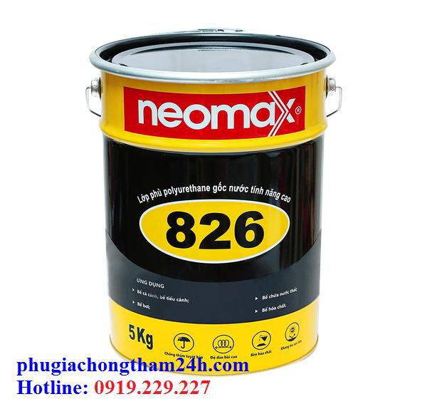 Chất chống thấm Neomax 826 chống thấm bể cá koi